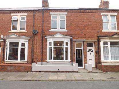 3 Bedrooms Terraced House for sale in Rosebery Avenue, Westoe, South Shields, Tyne and Wear, NE33