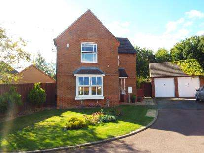 3 Bedrooms Detached House for sale in Nightingale Close, Brackley, Northamptonshire