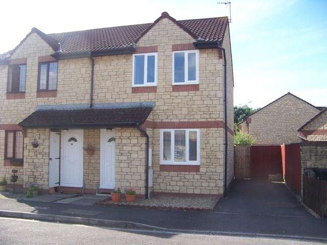 2 Bedrooms Semi Detached House for sale in Charlock Road, Locking Castle, Weston-super-Mare