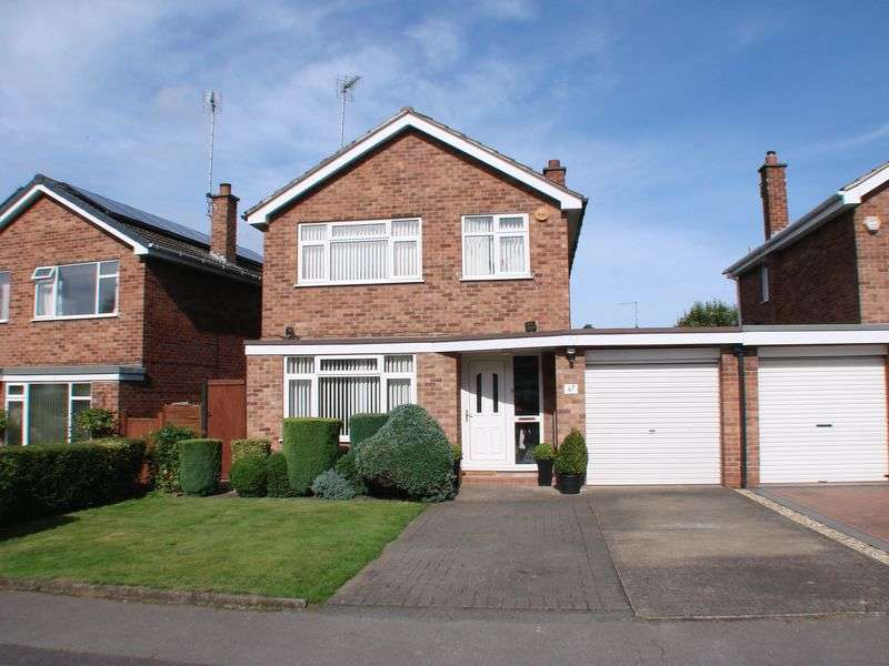 3 Bedrooms Detached House for sale in Whitworth Drive, Radcliffe on Trent