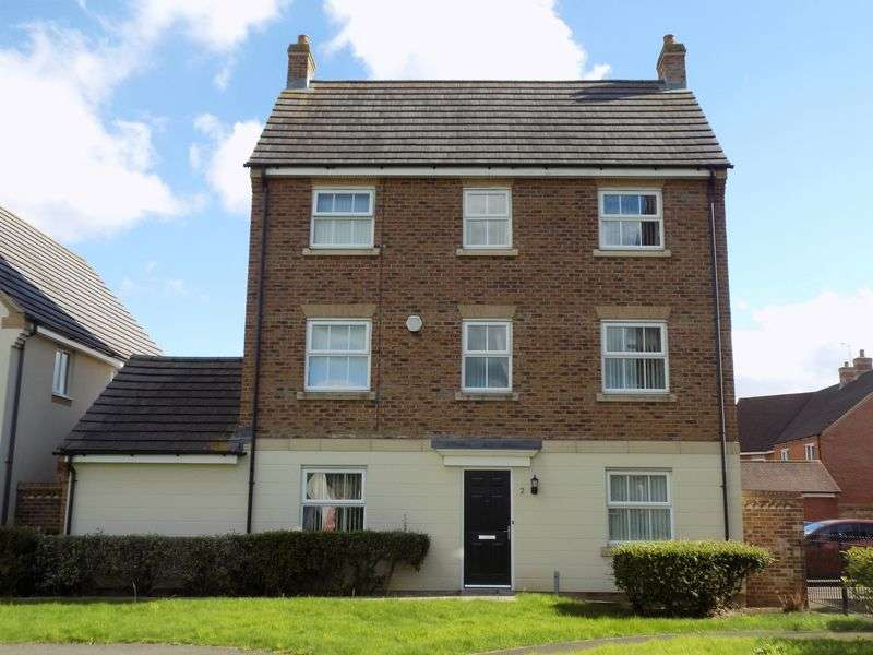 5 Bedrooms Detached House for sale in Artus Close, Haydon End