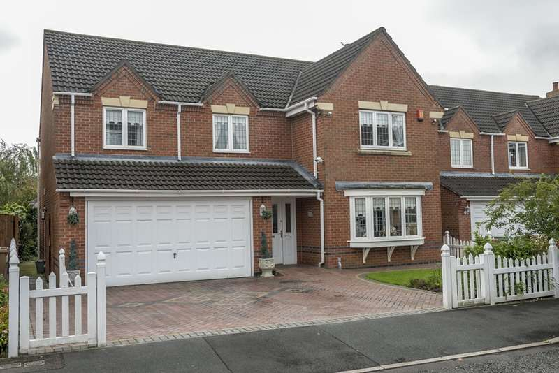 5 Bedrooms Detached House for sale in Hoveton Gardens, Waterford Place, Nutgrove,, St. Helens, Merseyside, WA9