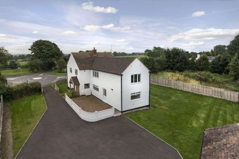 4 Bedrooms Detached House for sale in Cross Road, Albrighton, Wolverhampton