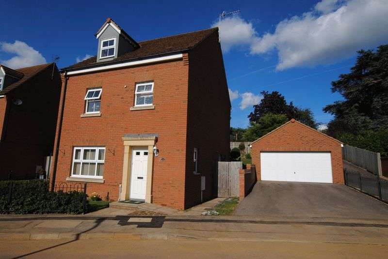 4 Bedrooms Detached House for sale in Batsmans Drive, Rushden