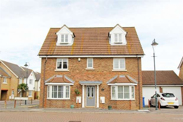 5 Bedrooms Detached House for sale in Elm Tree Avenue, Iwade, Sittingbourne, Kent
