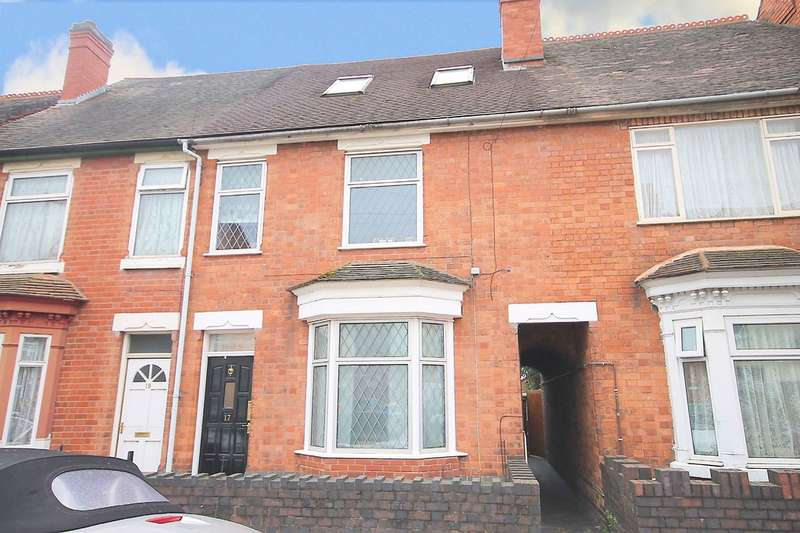 4 Bedrooms Terraced House for sale in Heath Street, Tamworth, B79 7JH