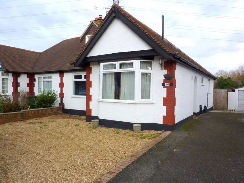 3 Bedrooms Semi Detached Bungalow for sale in Hillrise Avenue, Tudor Estate, Watford