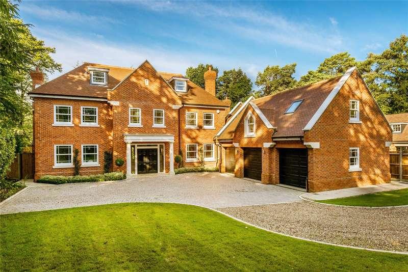 8 Bedrooms Detached House for sale in Hollybank Road, Hook Heath, Woking, Surrey, GU22
