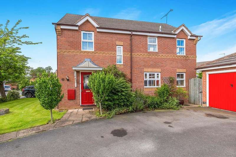 4 Bedrooms Detached House for sale in Horton View, Kirk Sandall, Doncaster, DN3