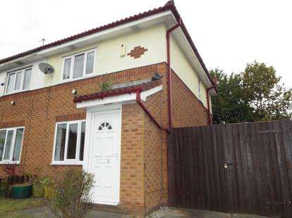 2 Bedrooms Semi Detached House for sale in Adstone Close, Ancoats, Manchester, Greater Manchester