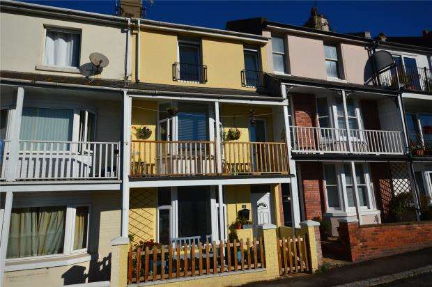 3 Bedrooms Terraced House for sale in Alexandra Terrace, Teignmouth, Devon