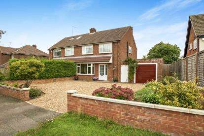 3 Bedrooms Semi Detached House for sale in Northampton Road, Bromham, Bedford, Bedfordshire