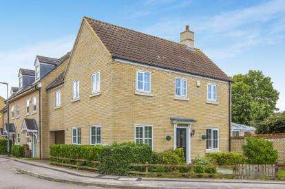 4 Bedrooms Link Detached House for sale in Roman Way, Godmanchester, Huntingdon, Cambridgeshire