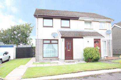 3 Bedrooms Semi Detached House for sale in Roseburn Drive, Cumnock, East Ayrshire