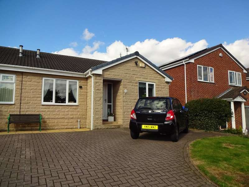 2 Bedrooms Semi Detached Bungalow for sale in Oldale Grove, Woodhouse