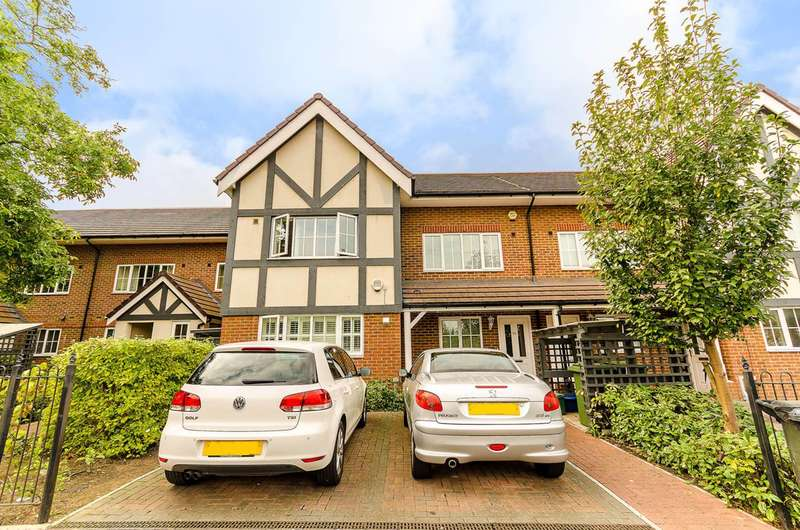 4 Bedrooms Terraced House for sale in Cuddington Avenue, Worcester Park, KT4
