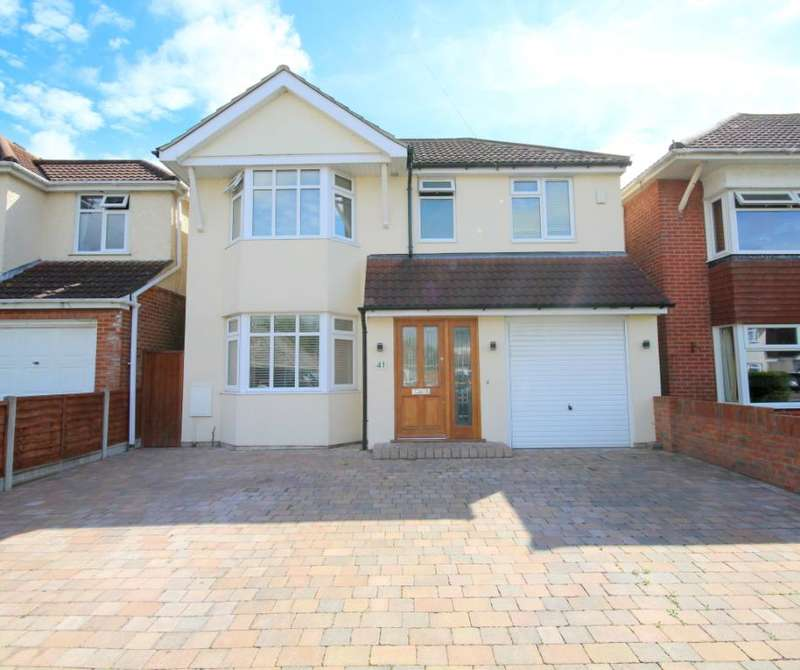 4 Bedrooms Detached House for sale in Stanley Green Road, Oakdale, Poole, BH15