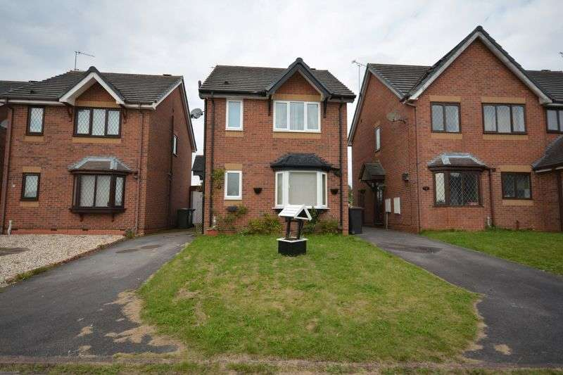 3 Bedrooms Detached House for sale in Greendale Gardens, Crewe