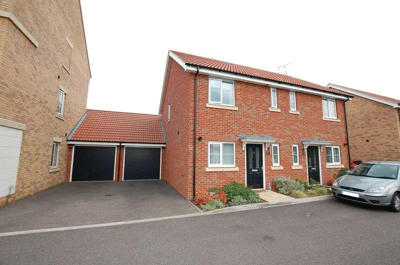 2 Bedrooms Semi Detached House for sale in Markhams Close, Basildon