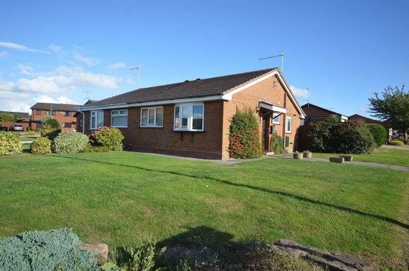 2 Bedrooms Semi Detached Bungalow for sale in Oakmere Drive, Greasby