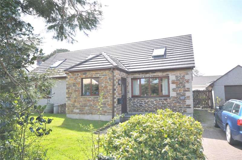 3 Bedrooms Detached Bungalow for sale in Westmoor Crescent, Perranwell Station, Truro