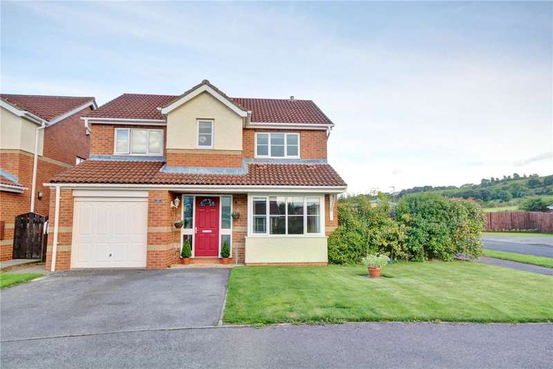 4 Bedrooms Detached House for sale in Herrington Close, Langley Park, Durham, DH7