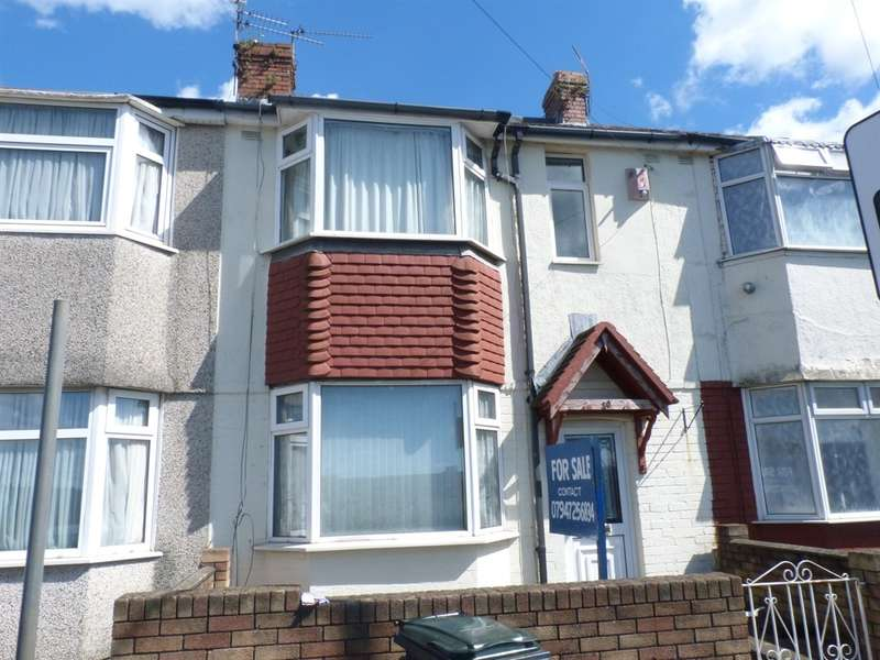 3 Bedrooms Terraced House for sale in Mendalgief Road, Newport