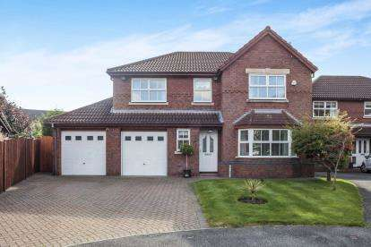 4 Bedrooms Detached House for sale in Sandstone Close, Rainhill, Prescot, Merseyside, L35