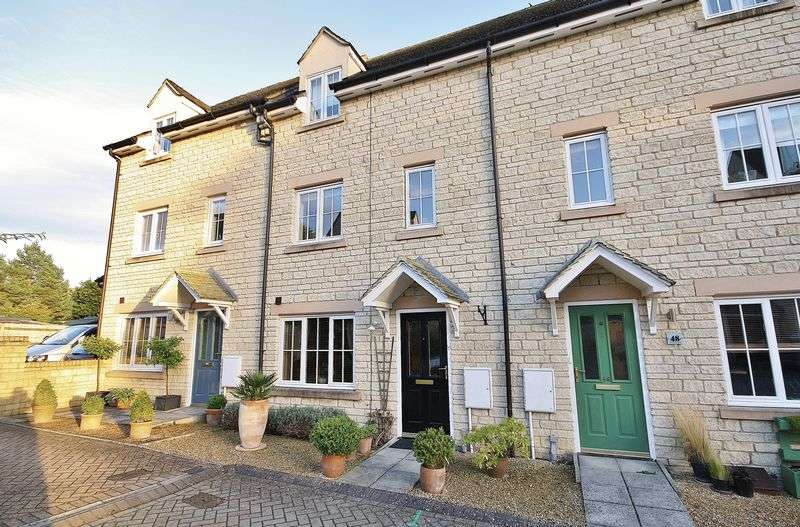 3 Bedrooms Terraced House for sale in WESTCOTE CLOSE, Deer Park Development, Witney OX28 5FF