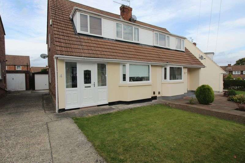 3 Bedrooms Semi Detached Bungalow for sale in Cedarwood Grove, Grangetown, Sunderland