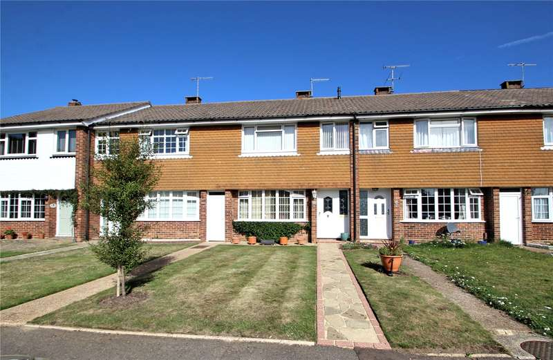 3 Bedrooms Terraced House for sale in Guildford Close, Worthing, West Sussex, BN14