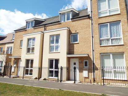 4 Bedrooms Terraced House for sale in Eighteen Acre Drive, Charlton Hayes, Bristol, Gloucestershire