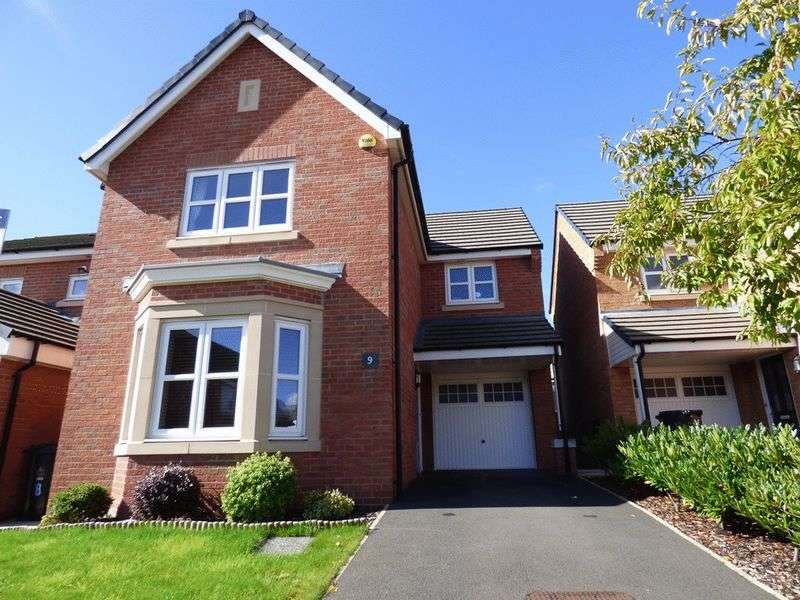 3 Bedrooms Detached House for sale in Greenfinch Way, Morecambe