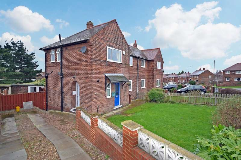 2 Bedrooms Semi Detached House for sale in Thorntree Avenue, Crofton, Wakefield