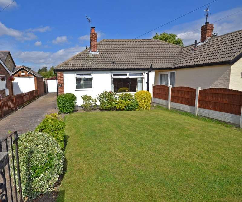 2 Bedrooms Semi Detached Bungalow for sale in Winden Close, Lofthouse, Wakefield