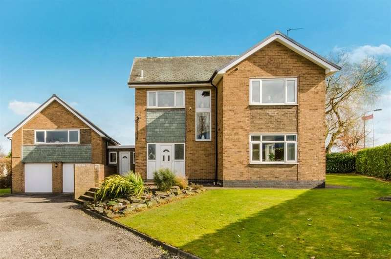 5 Bedrooms Detached House for sale in Milner Way, Ossett
