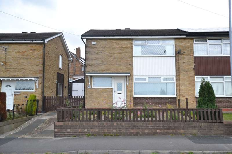 2 Bedrooms Semi Detached House for sale in Walnut Road, Dewsbury