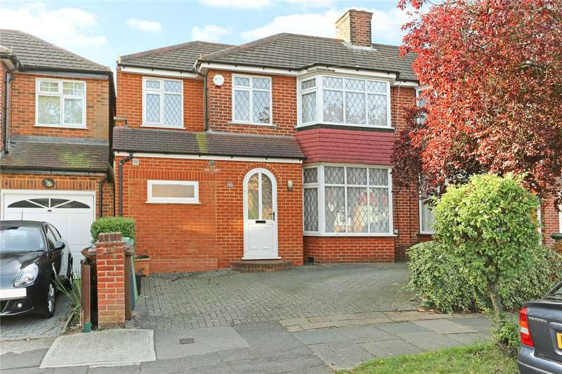4 Bedrooms Semi Detached House for sale in Broadcroft Avenue, Stanmore, HA7