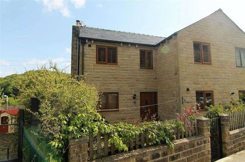 3 Bedrooms Semi Detached House for sale in Palace House Road, Hebden Bridge