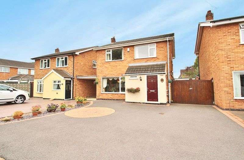 3 Bedrooms Detached House for sale in Goodes Lane, Syston, Leicestershire