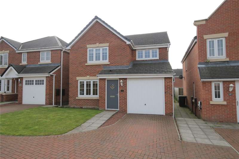 3 Bedrooms Detached House for sale in Arkless Grove, Consett, County Durham, DH8