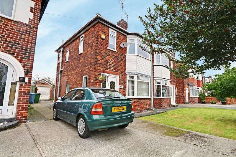 3 Bedrooms Semi Detached House for sale in Golf Links Road, Hull