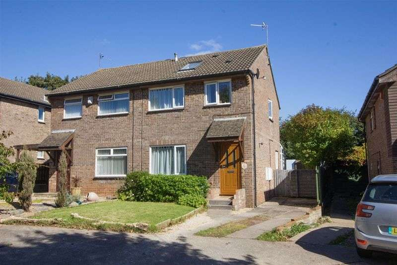 4 Bedrooms Semi Detached House for sale in Kingsley Close, Sully