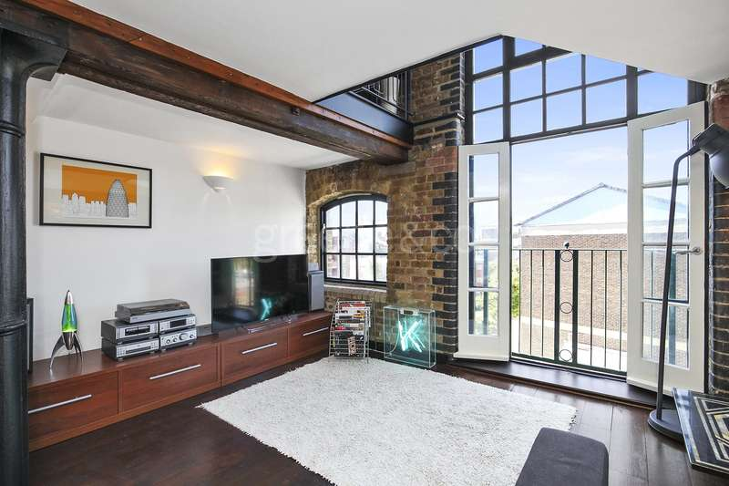 2 Bedrooms Apartment Flat for sale in Tannery House, 6 Deal Street, London, E1