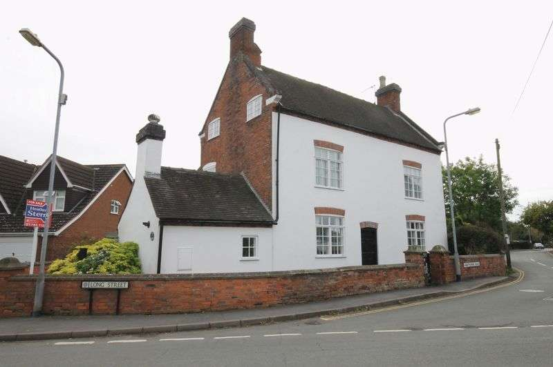 5 Bedrooms Detached House for sale in Main Farmhouse Long Street, Wheaton Aston, Stafford