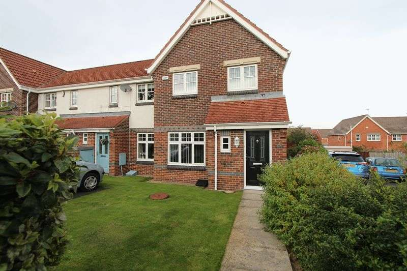 3 Bedrooms Semi Detached House for sale in Wearhead Drive, Eden Vale, Sunderland