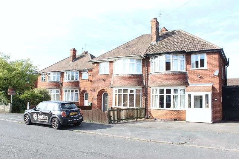 3 Bedrooms Semi Detached House for sale in Sycamore Road, Leicester