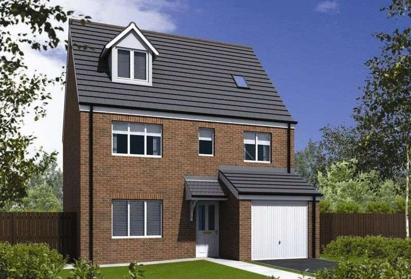 5 Bedrooms Detached House for sale in Plot 67 The Barrington, Moss Lane , Sandbach, CW11