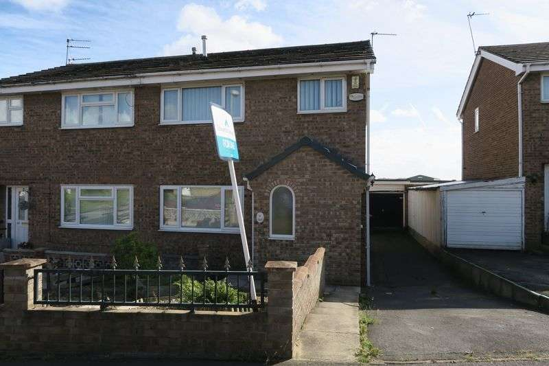 3 Bedrooms Semi Detached House for sale in Harwill Rise, Churwell, Leeds