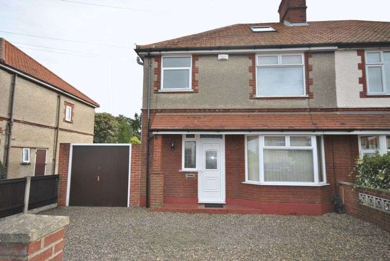 3 Bedrooms Semi Detached House for sale in Neville Road, Norwich